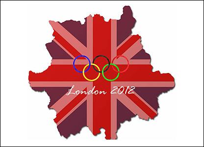 Gary Laverick's Olympics logo
