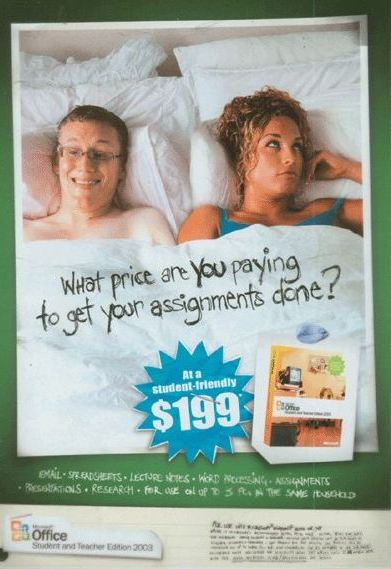 Sex Sells Microsoft